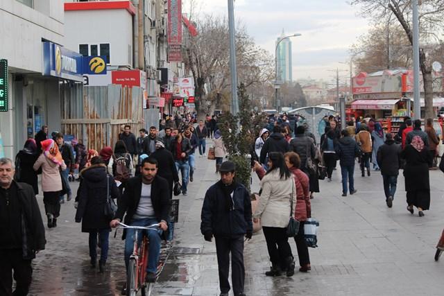 Konya'nın % 16,8 gençlerden oluşuyor