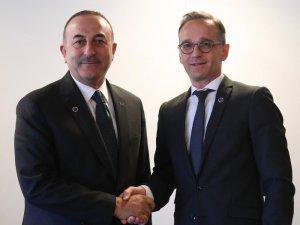 Çavuşoğlu, Almanya Dışişleri Bakanı Maas ile görüştü