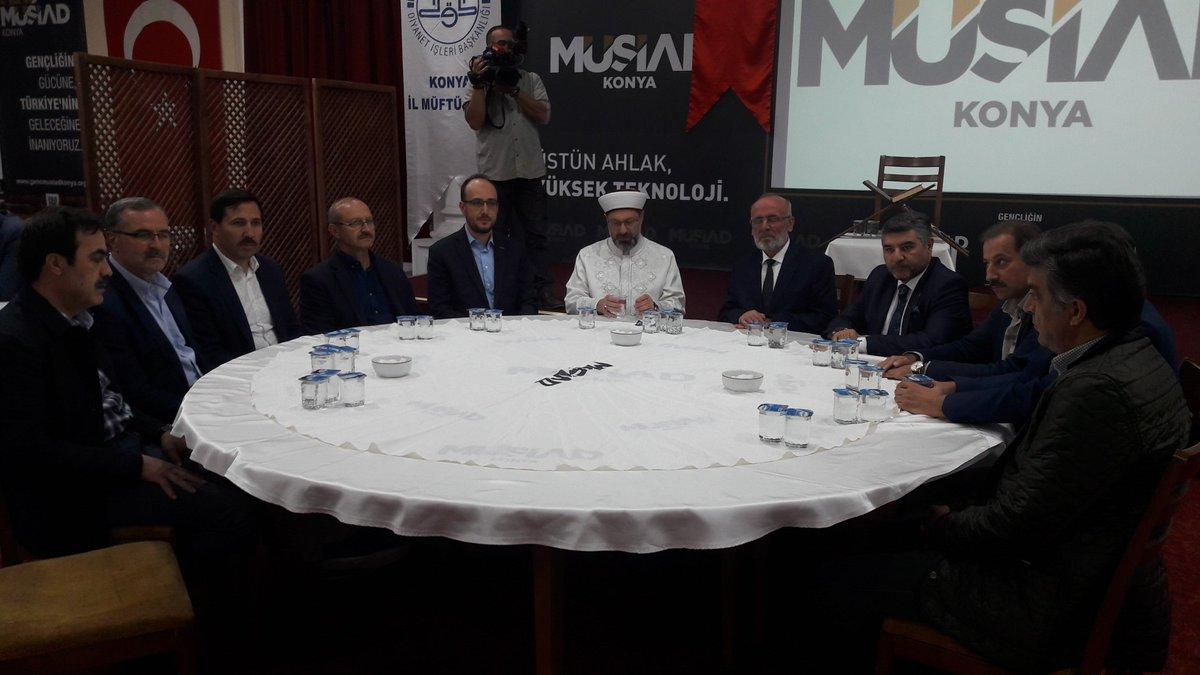 Ali Erbaş MÜSİAD'ta konuştu