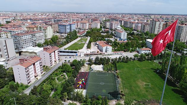 Jandarmadan Konya'ya en büyük Türk bayrağı