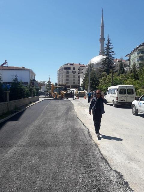 Beyşehir'de yollara bahar bakımı