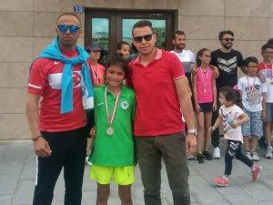 Konyasporlu tenisçi ikinci oldu