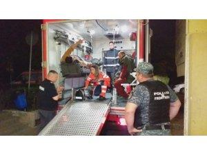 Köstence'de Türk balıkçı teknesine müdahale anı