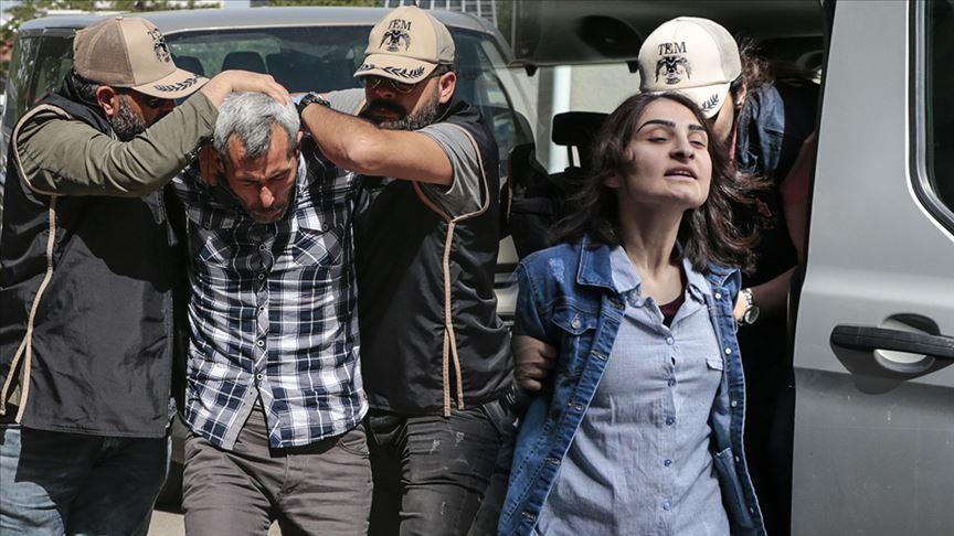 Meclisteki terör eylemi girişiminin failleri tutuklandı