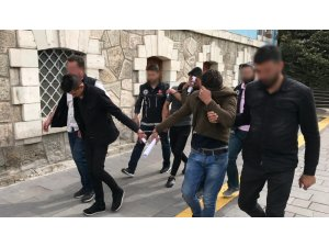 Kütahya'da uyuşturucu satıcıları tutuklandı