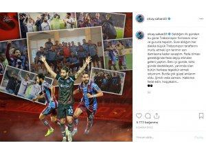 Olcay Şahan'dan Trabzonspor'a veda