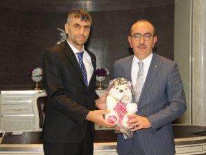 Şahin'den Başkan Kavuş'a Ziyaret
