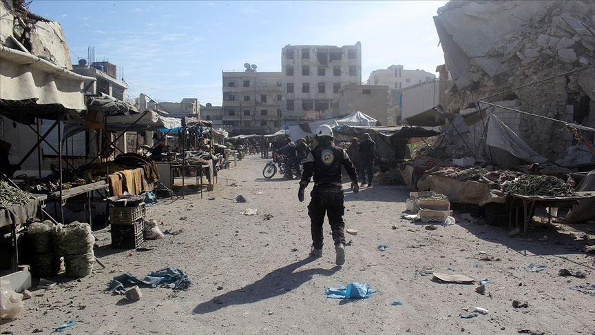"""Esed rejiminden İdlib'e """"beyaz fosfor""""lu saldırı"""