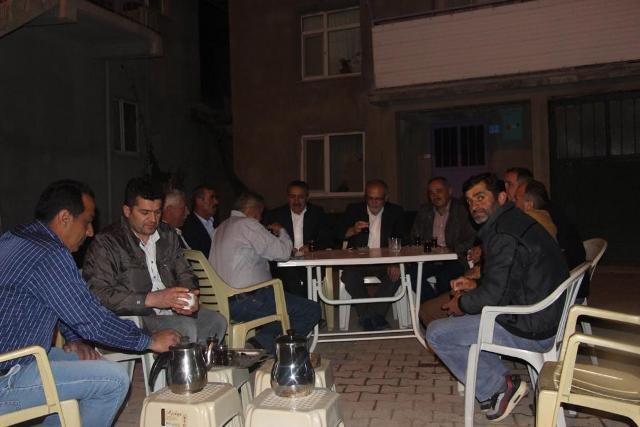 Tutal, vatandaşlarla buluştu
