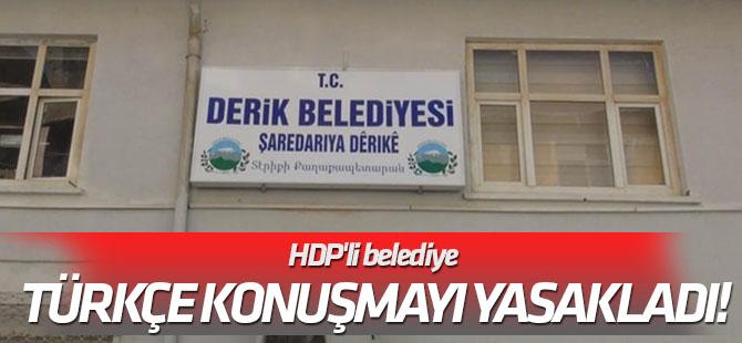 Şehit yakınları isyan etti... HDP'li belediye Türkçe konuşmayı yasakladı!