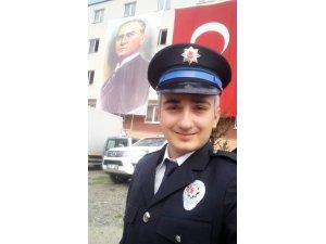 Genç polis memuru trafik kazasında hayatını kaybetti