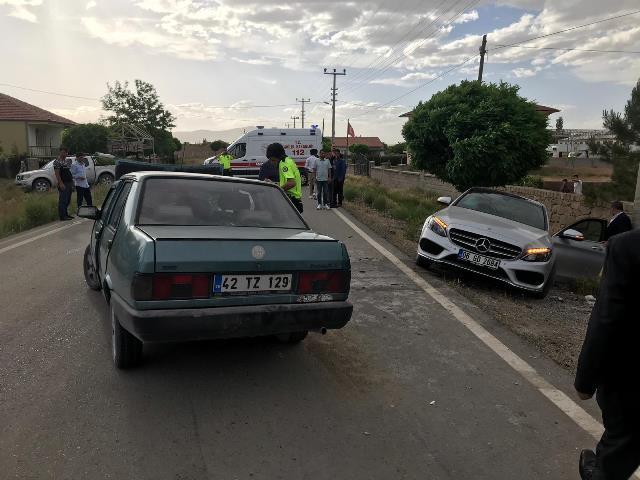 Kulu'da trafik kazası : 6 yaralı