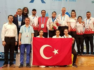 Konya Spor Lisesi'nden halterde dünya ikinciliği