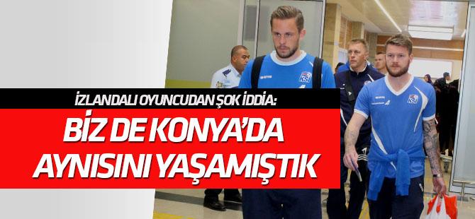 Gunnarsson'dan şok iddia: Biz de Konya'da aynı şeyleri yaşamıştık