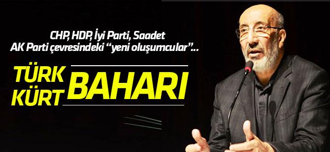 Dilipak:Türk, Kürt Baharı senaryosunu devreye sokacaklar