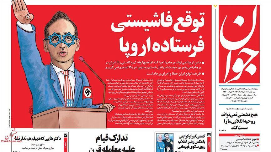 İran'da muhafazakar basından Alman bakana Nazi benzetmesi