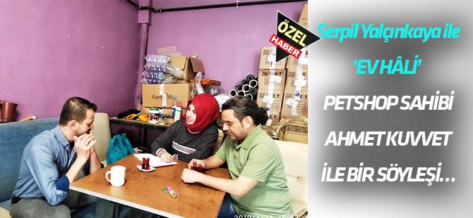 Petshop sahibi Ahmet Kuvvet ile bir söyleşi