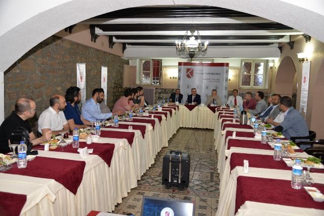 KTÜN'de Ar-Ge toplantısı yapıldı