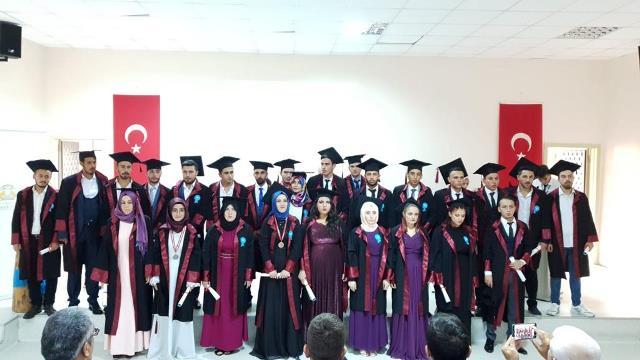 Taşkent Meslek Yüksekokulunda mezuniyet heyacanı