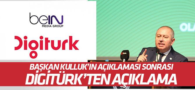 Hilmi Kulluk'un açıklaması sonrası yayıncı kuruluş Digiturk'ten açıklama