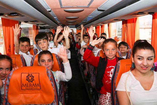Meram'da çocuklar için başlatılan projenin ilk ayağı bitti