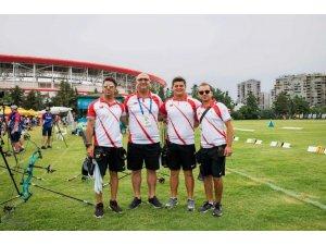 Dünya Okçuluk Şampiyonası'nda millilerden altın ve bronz finali