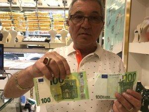 Yeni 100 ve 200 Euro'lar piyasada