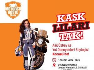 'Motorcu Dostu Trafik' projesi ikinci etabına Kocaeli'den başlıyor