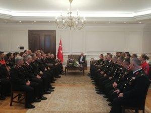 İçişleri Bakanı Soylu, Jandarma heyetini kabul etti