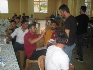 2'nci İsmail Hakkı Durdu Futbol Turnuvası kura çekimi yapıldı