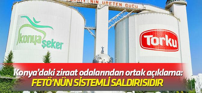 Konya'daki ziraat odalarından Torku'ya destek açıklaması