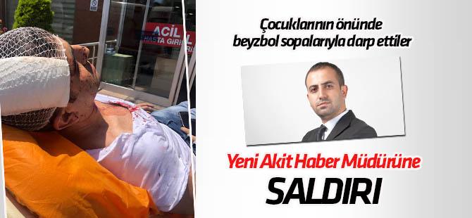 Yeni Akit Gazetesi Haber Müdürü Murat Alan'a saldırıya tepki yağdı