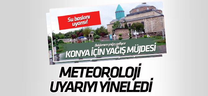 Meteoroloji'den Konya'ya yağış uyarısı!