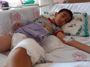 Husumetlisinin çocuğu diye başka bir çocuğu yaraladı
