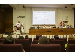 """AOSB'de """"Çevre Mevzuatı İstişare Toplantısı"""" yapıldı"""