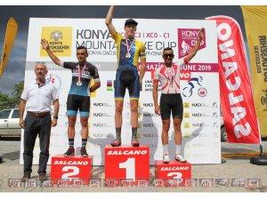 Konya Dağ Bisikleti Yarışmalarına Kayseri damgası