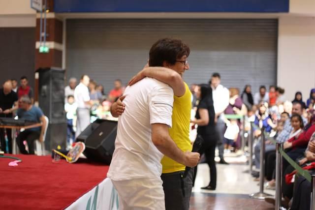 Süheyl Uygur ile babalar M1 Konya'da yarıştı