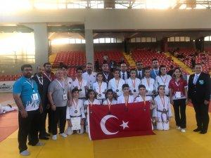 Balkan Judo Şampiyonasında Konya rüzgarı