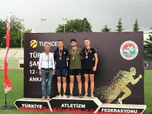 Kayserili Atletler Ankara'dan 4 madalya ile döndü