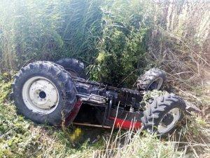 Kullandığı traktörün altında kalan sürücü hayatını kaybetti