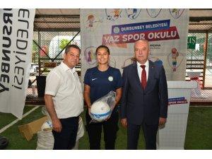 Dursunbey'de Yaz Spor Okulları Başladı