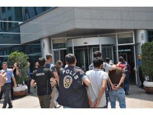 Çekirge operasyonuna 10 tutuklama