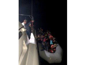 Didim'de bir gecede 101 göçmen yakalandı