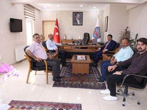 Başkan Bakkal'dan Kaymakam Bozkurtoğlu'na hayırlı olsun ziyareti