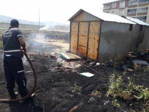 Bingöl'de anız yangını