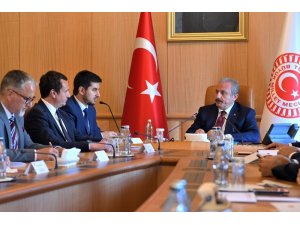 TBMM Başkanı Şentop, Kosovalı heyeti kabul etti
