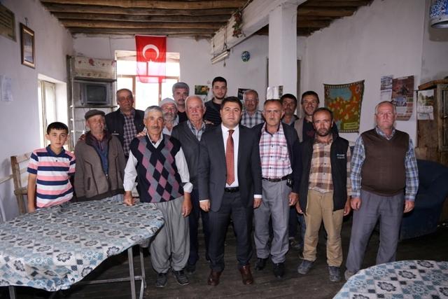 Kaymakam Bozkurtoğlu mahalleleri ziyaret etti