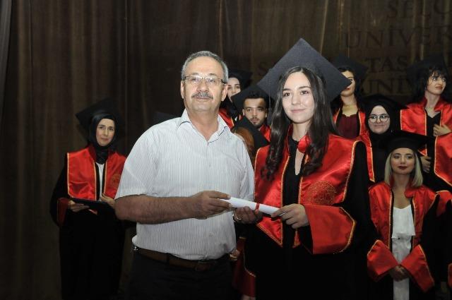 Selçuk'ta mezuniyeti heyecanı