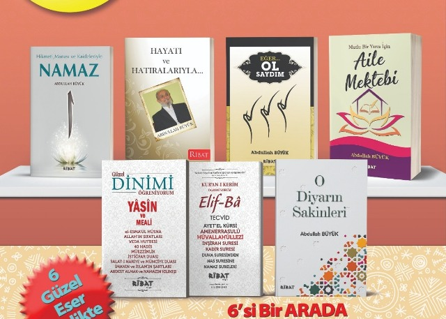 Eğitim-Yazar Abdullah Büyük'ün kitaplarına yoğun talep