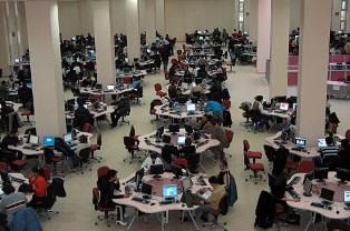 Türkiyenin en büyük bilgisayar merkezi